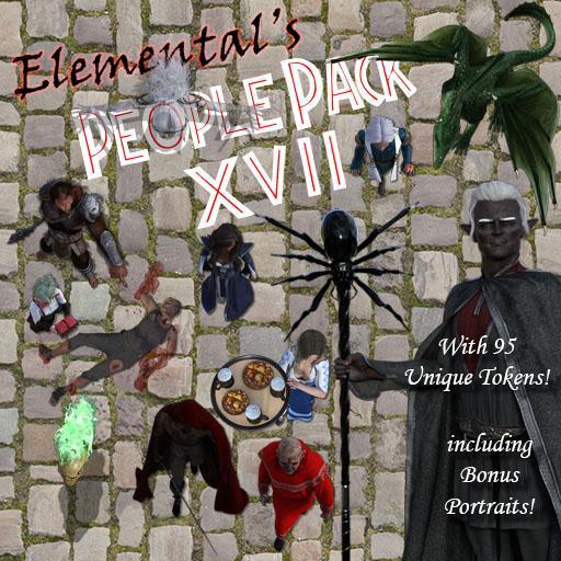Elemental's People Pack 17