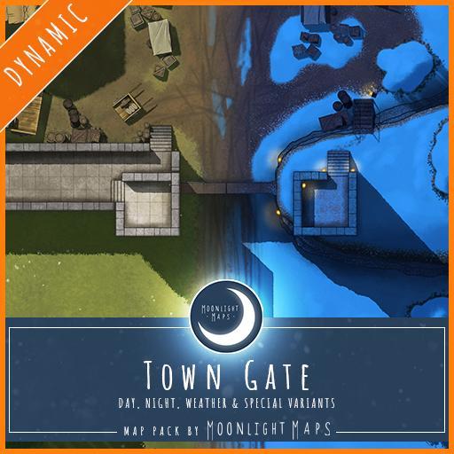 Dynamic   Town Gate