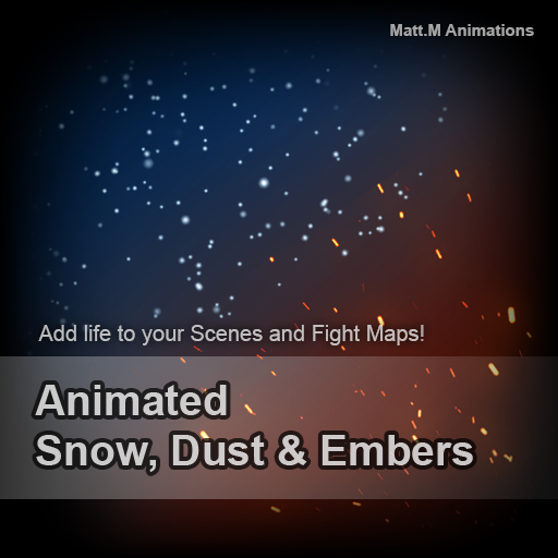 Animated Snow, Dust & Embers