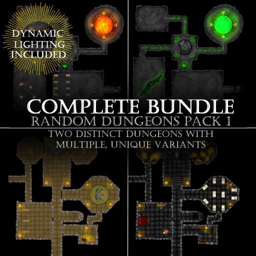 Random Dungeons Pack 1 Bundle