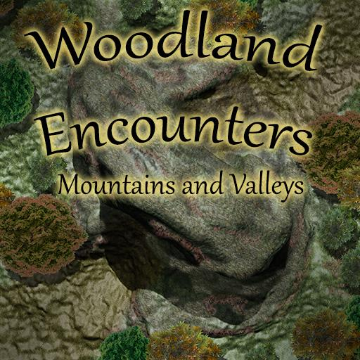Woodland Encounters: Mountains and Valleys