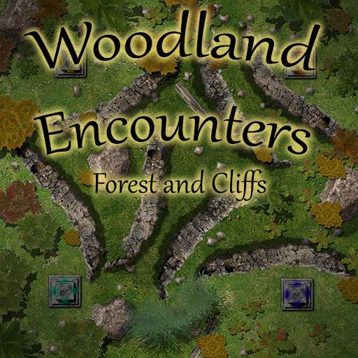 Woodland Encounters : Forest and Cliffs