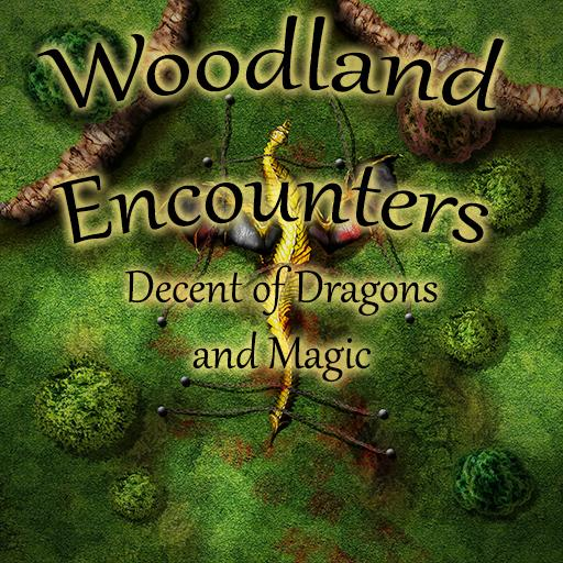 Woodland Encounters : Decent of Dragons and Magic