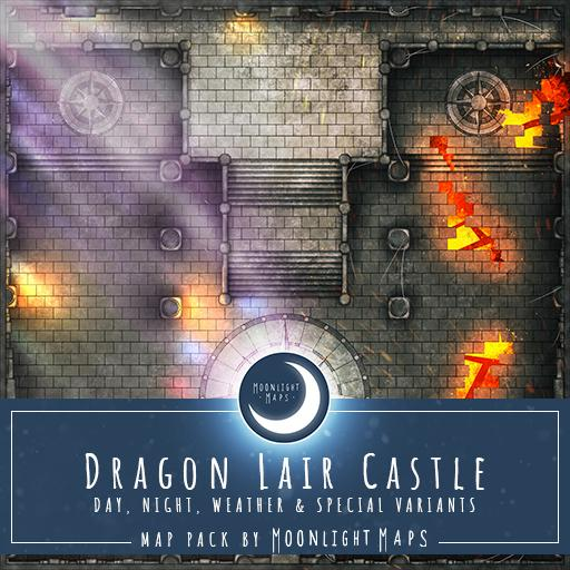 Dragon Lair Castle