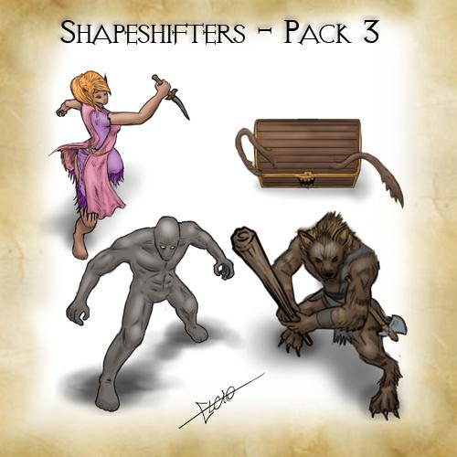 Shapeshifters - Pack 3