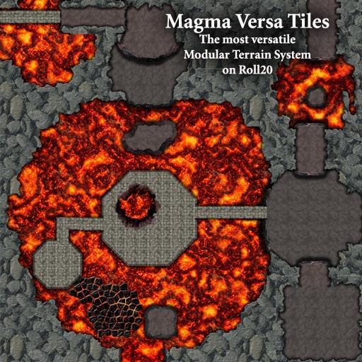 Magma Versa Tiles