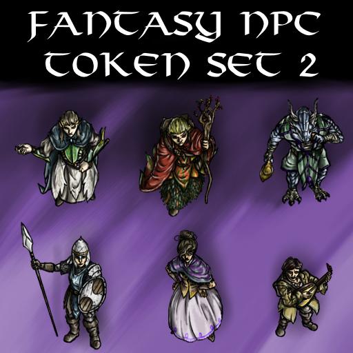 Fantasy NPC Token Set 2