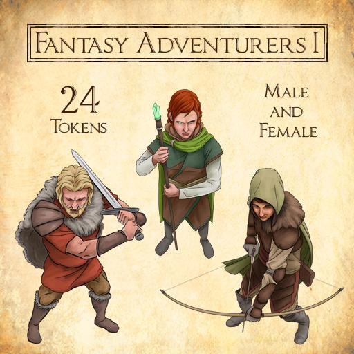 Fantasy Adventurers 1