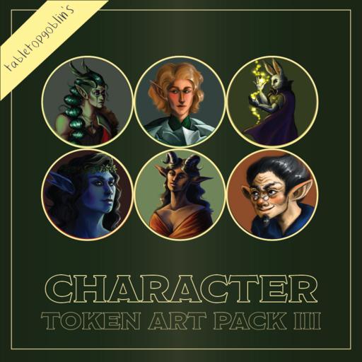 Character Token Art Pack III
