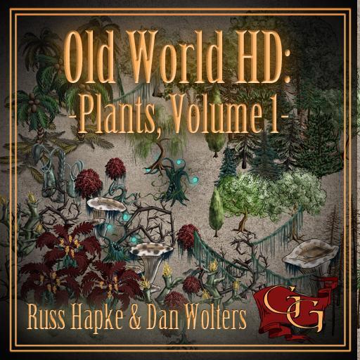 Old World HD - Plants, Volume 1