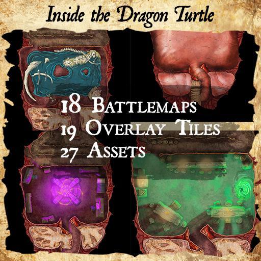 Dragon Turtle Interior