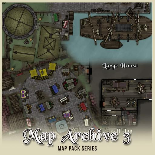 Map Archive Pack 3