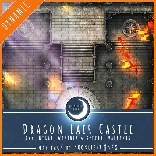 Dynamic   Dragon Lair Castle