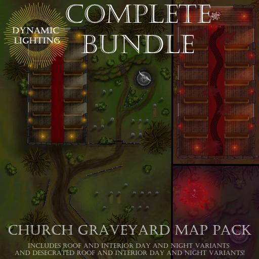 Church Graveyard Bundle
