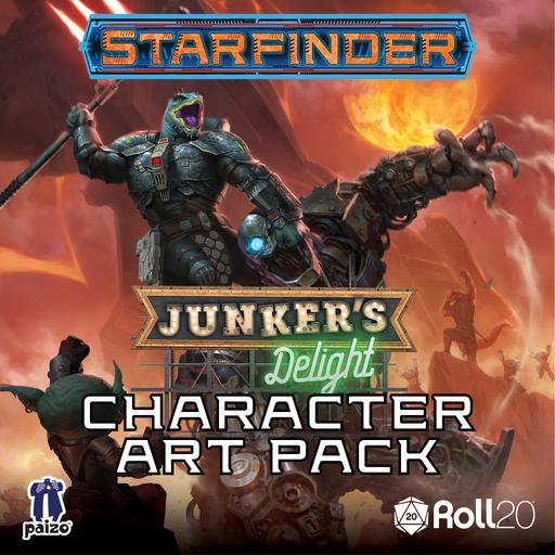 Starfinder Adventure: Junker's Delight Character Art Pack