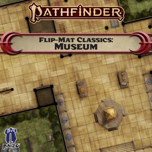 Pathfinder Flip-Mat Classics: Museum