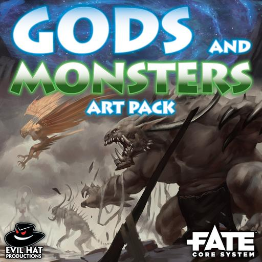 Gods and Monsters: Art Pack
