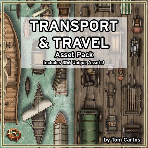 Transport & Travel Asset Pack