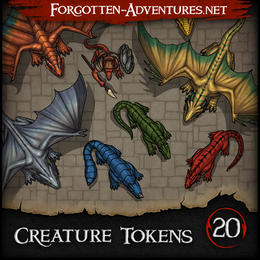Creature Tokens - Pack 20
