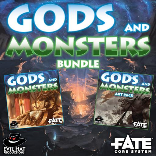 Gods and Monsters: World and Art Bundle