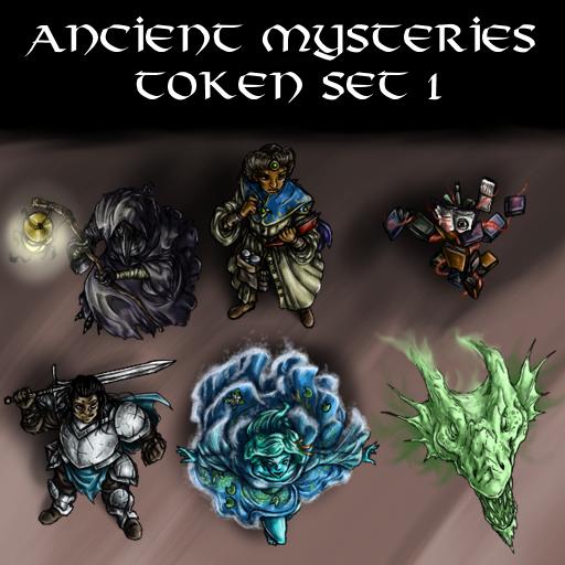 Ancient Mysteries Token Set 1