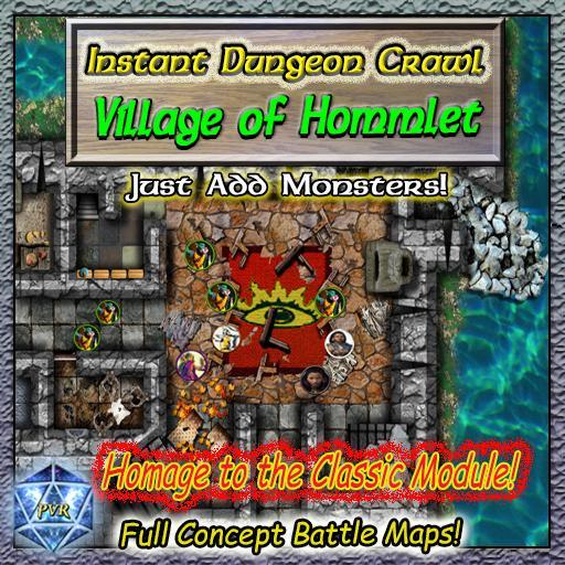 Instant Dungeon Crawl: Village of Hommlet