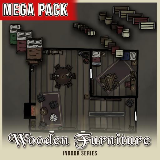 Wooden Furniture Mega Pack