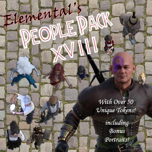 Elemental's People Pack 18