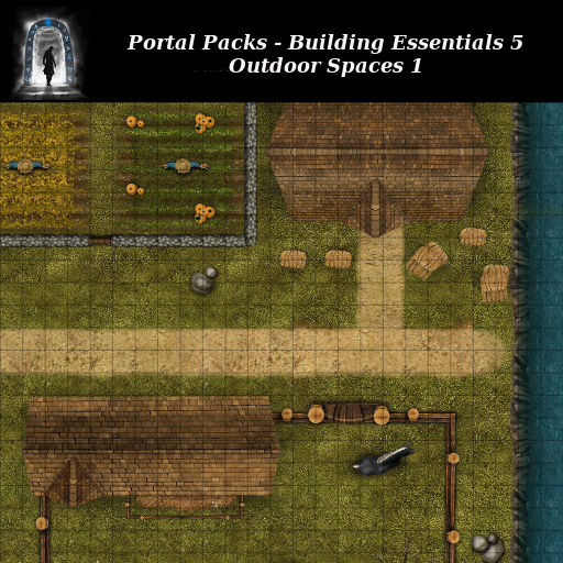 Portal Packs - Building Essentials 5 - Outdoor Places 1
