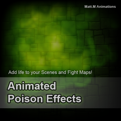 Animated Poison Effects