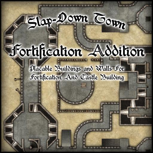 Slap-Down Town Fortifications Addition