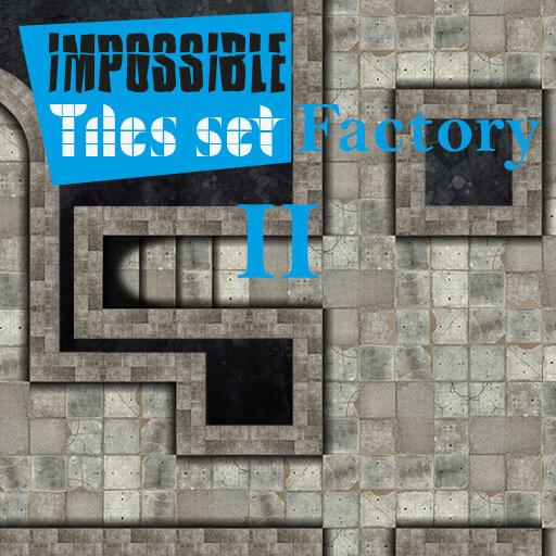 Impossible Tiles Set: Factory 2