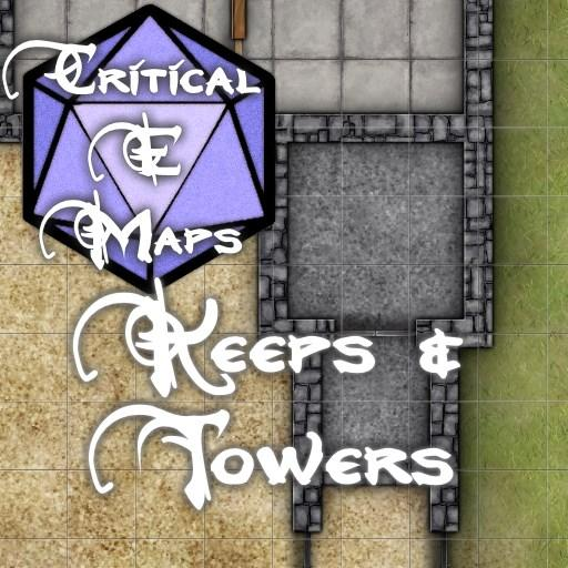 Critical E Maps: Keeps & Towers