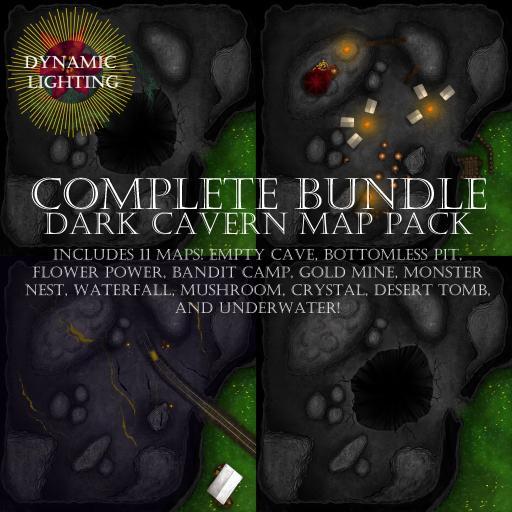 Dark Caverns Bundle