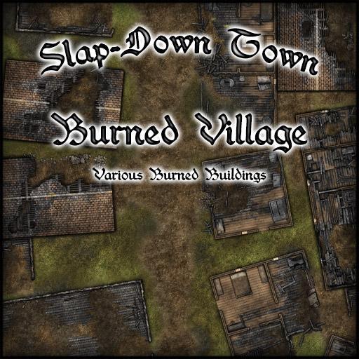 Slap-Down Town Burned Village