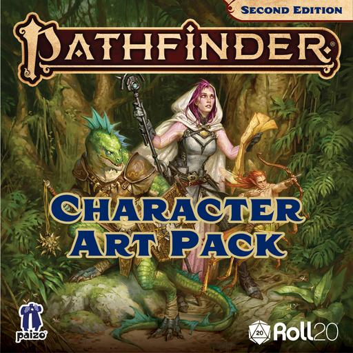 Pathfinder Lost Omens: Ancestry Guide Character Art Pack