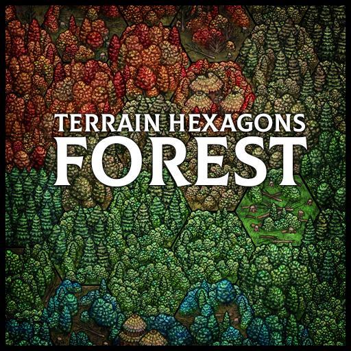 Terrain Hexagons: Forest