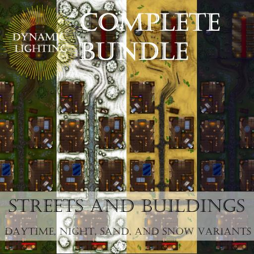 Streets and Buildings Bundle