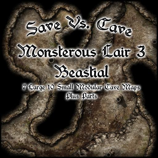 Save Vs. Cave Monsterous Lair 3 Beastial