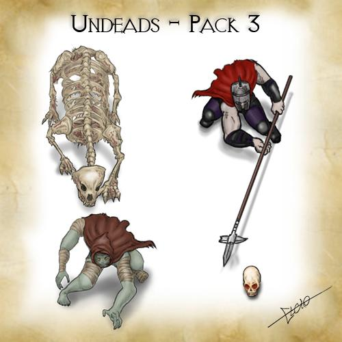 Undeads - Pack 3