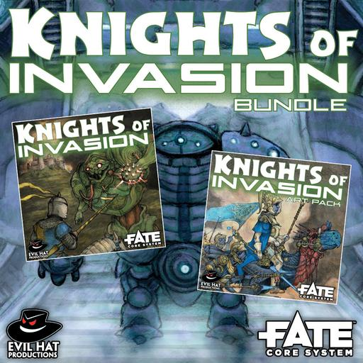 Knights of Invasion: World and Art Bundle