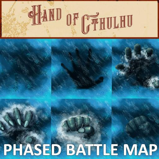 Hand of Cthulhu Phased Battle Map