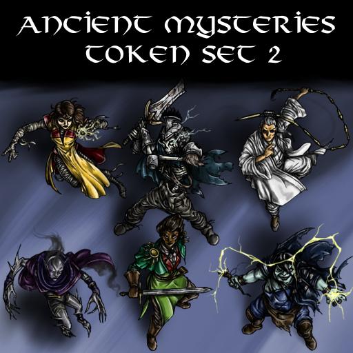Ancient Mysteries Token Set 2