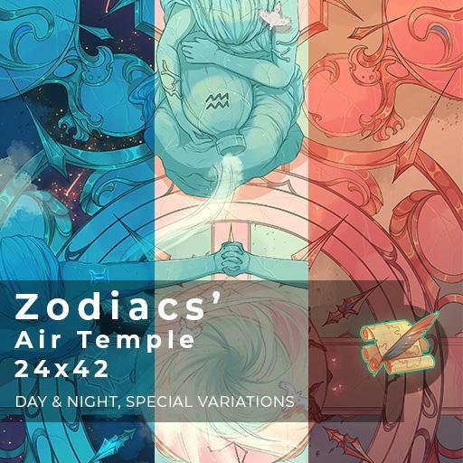 Zodiacs' Air Temple Battlemap
