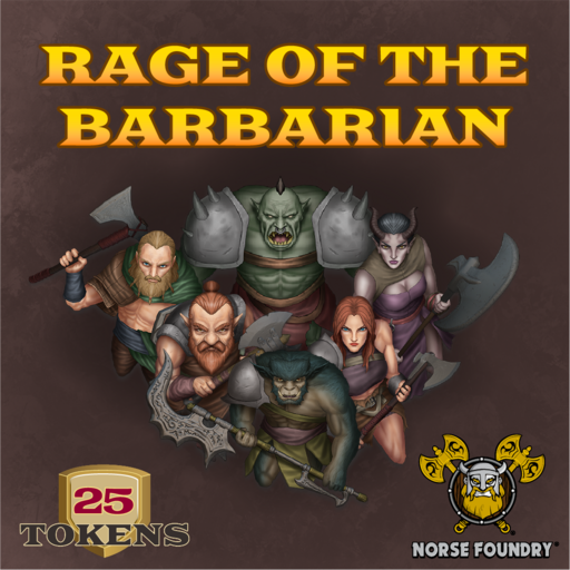 Rage of the Barbarian