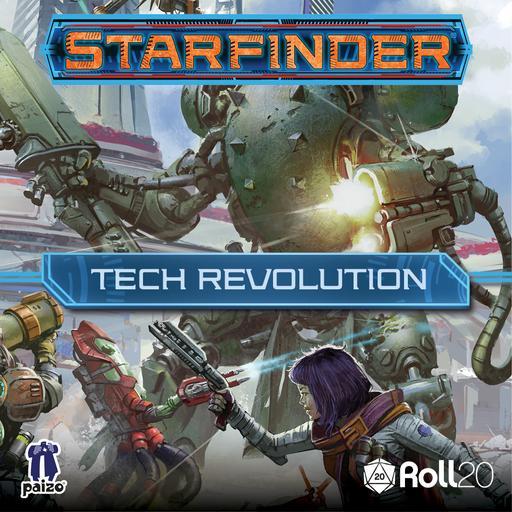 Starfinder Tech Revolution Character Art Pack