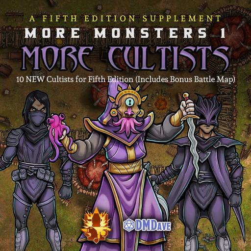More Monsters 2: More Cultists