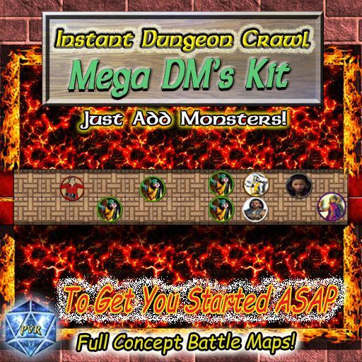 Instant Dungeon Crawl: Mega DM's Kit
