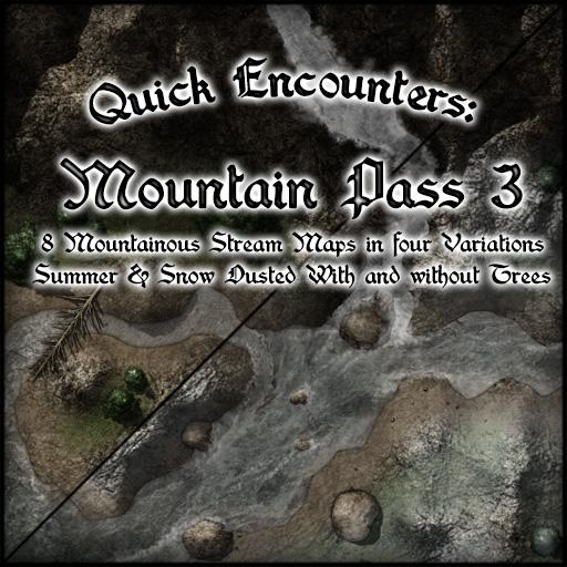 Quick Encounters: Mountain Pass 3