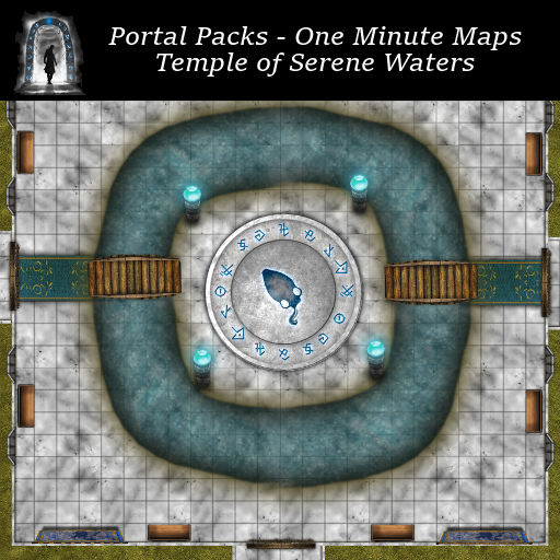 Portal Packs - One Minute Maps - Temple of Serene Waters